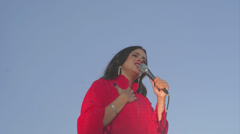 Uñas gel Rosalía
